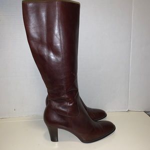 Harolds leather knee high boots